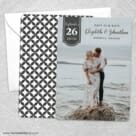 Badge Of Love Save The Date Wedding Card