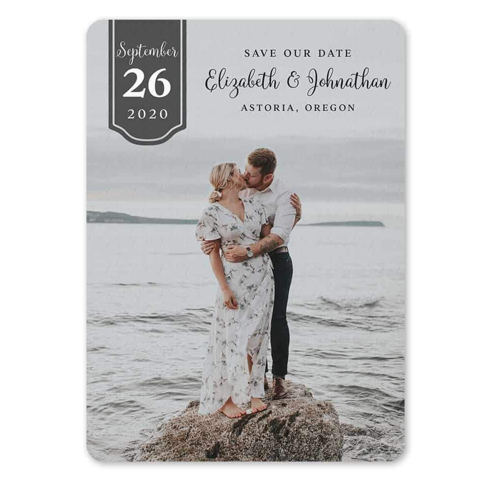 Badge Of Love Save The Date