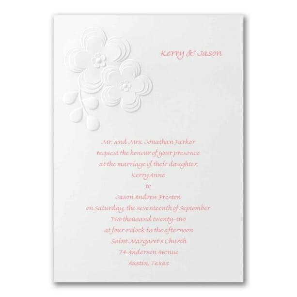 eac57ba3d1 Fun and Flirty - Wedding Invitations