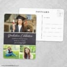 Union Square Graduation NB Save The Date Wedding Postcard Front And Back