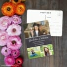 Union Square Graduation NB Save The Date Postcard With Back