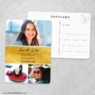 Union Square Bat Mitzvah NB Save The Date Wedding Postcard Front And Back