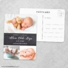 Union Square Baby NB Save The Date Wedding Postcard Front And Back