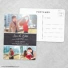 Union Square Wedding NB Save The Date Wedding Postcard Front And Back