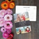 Union Square Wedding NB Save The Date Postcard With Back