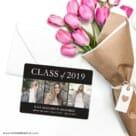 Graduation Collage NB Save The Date Cards With Envelope
