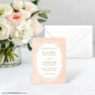 Quartz NB Save The Date Card With Envelope