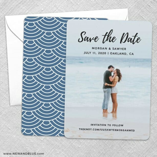 Endless Love NB Save The Date Wedding Card