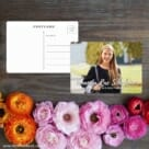 Bellevue Bat Mitzvah NB Save The Date Postcard With Back Etsy