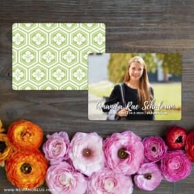 Bellevue Bat Mitzvah NB Save The Date Card With Back Printing