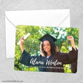Bellevue Graduation NB Save The Date Party Card