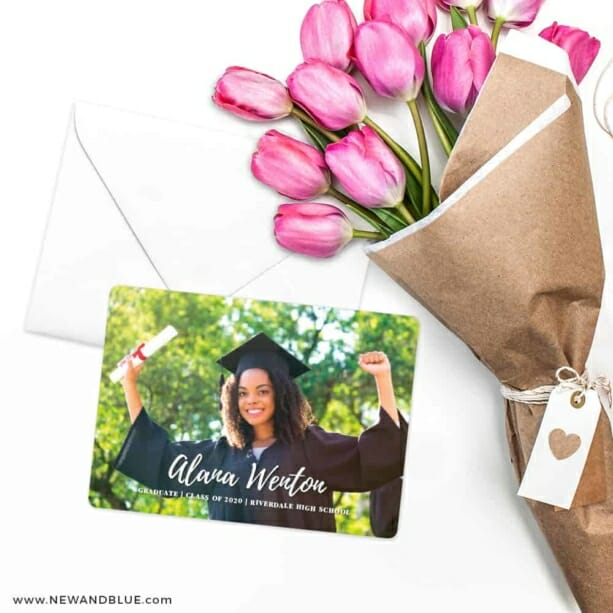 Bellevue Graduation NB Save The Date Cards With Envelope