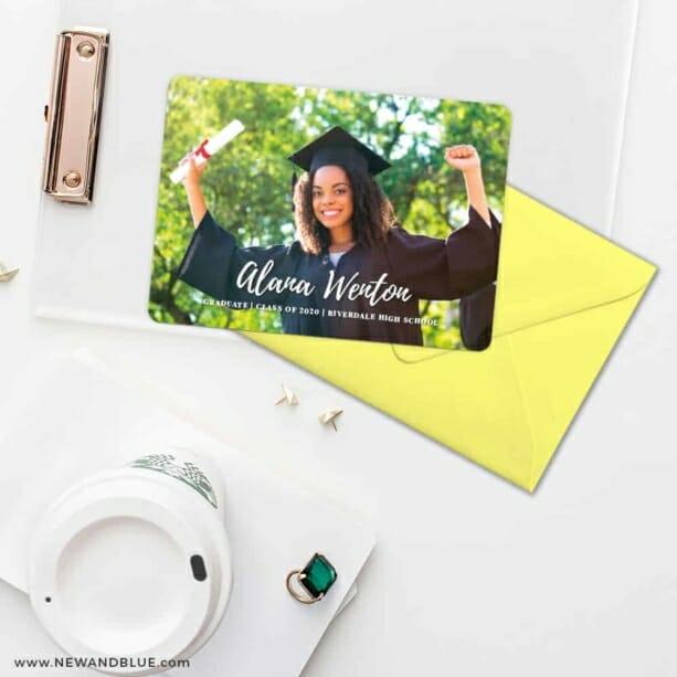 Bellevue Graduation NB Save The Date Cards And Optional Color Envelopes