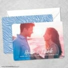 Bellevue NB Save The Date Wedding Card