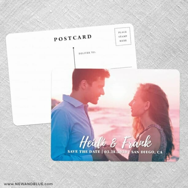 Bellevue NB Save The Date Postcards No Envelope Needed