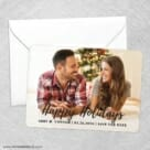 Bellevue Holiday NB Save The Date Party Card