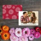 Bellevue Holiday NB Save The Date Card With Back Printing