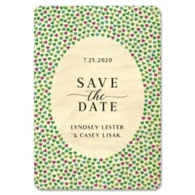 Whirlwind 2 1 Wooden Save The Date Magnets