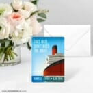 Cruisin NB Save The Date Card With Envelope