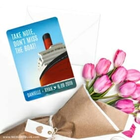Cruisin NB Save The Date Cards With Envelope