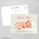 Welcome Baby NB Save The Date Postcards No Envelope Needed