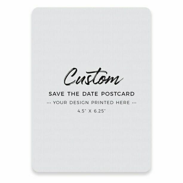 Custom Postcard Save The Date