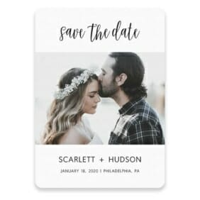 Sweet Romance Save The Date