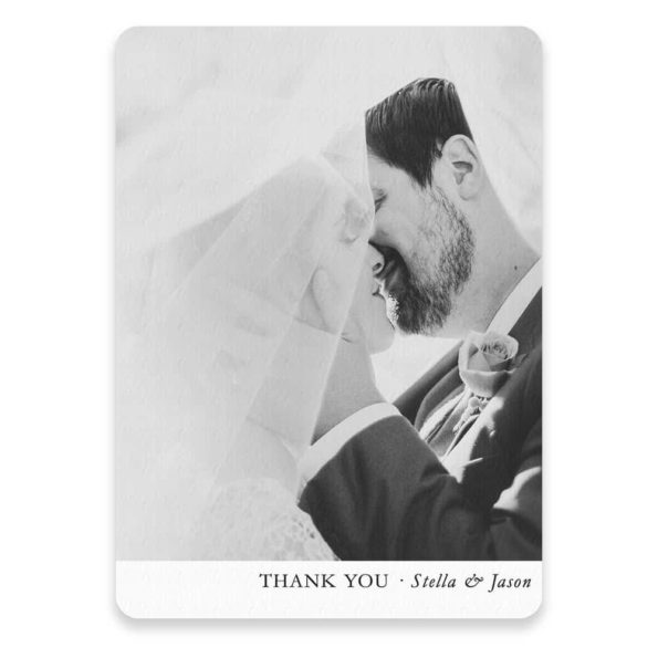 Classic Thank You Save The Date