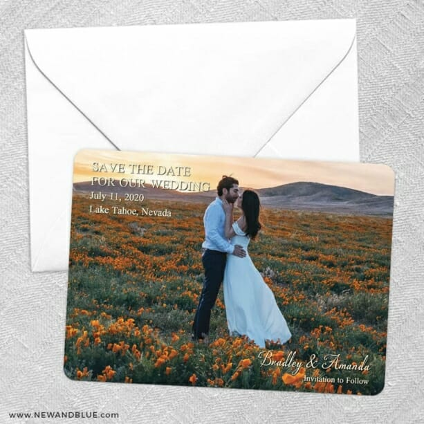 Countryside Save The Date Party Card