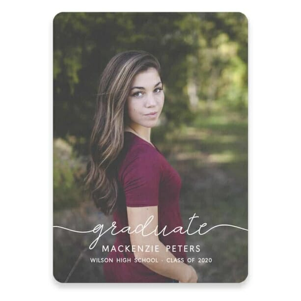 Senior Picture Save The Date