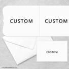 Custom All Inclusive Invitation Inside Panel