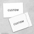 Custom All Inclusive Invitation Front And Back