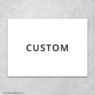 Custom All Inclusive Invitation Back Panel