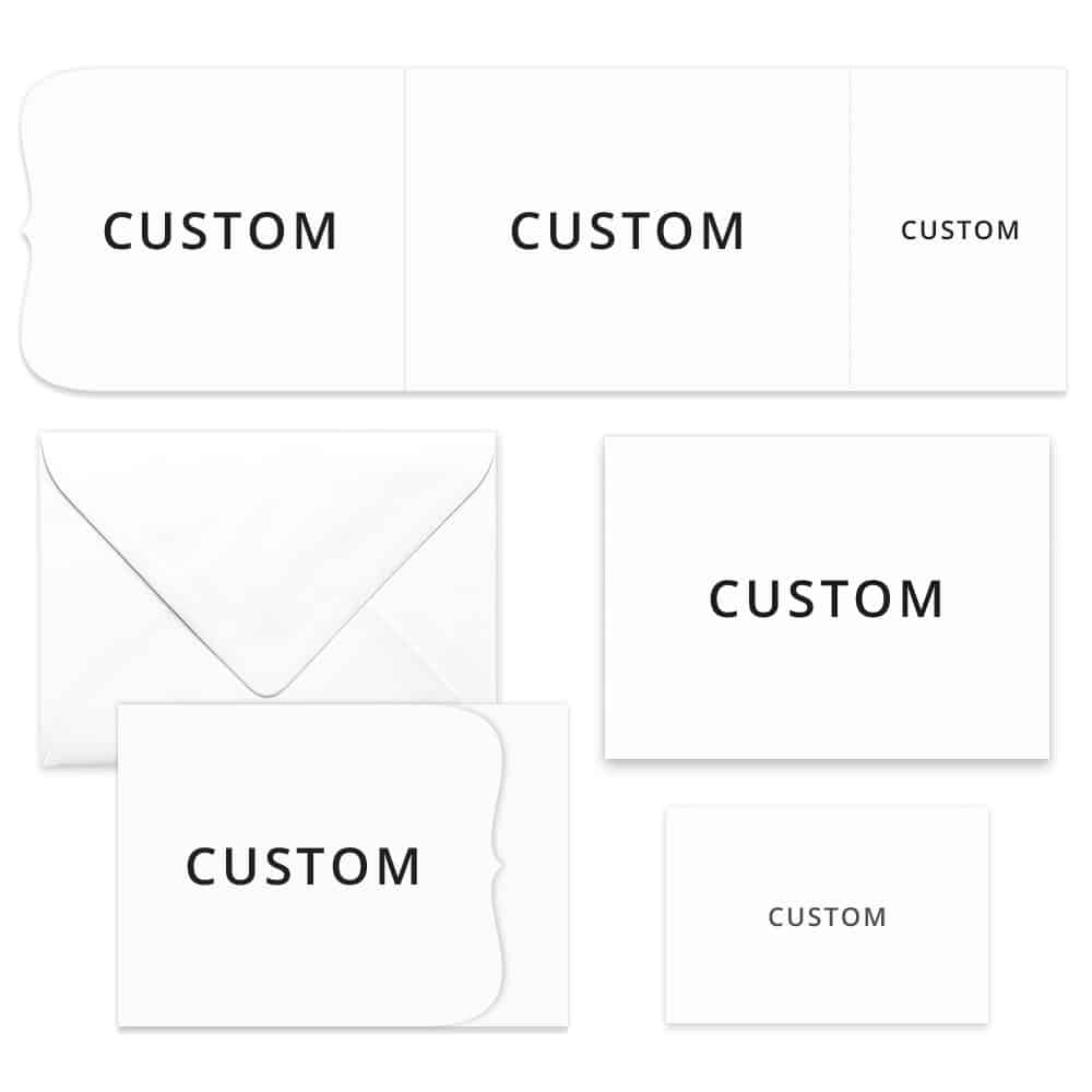 Custom All Inclusive Invitation