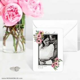 Bloom Nb 6 Wedding Save The Date Magnets