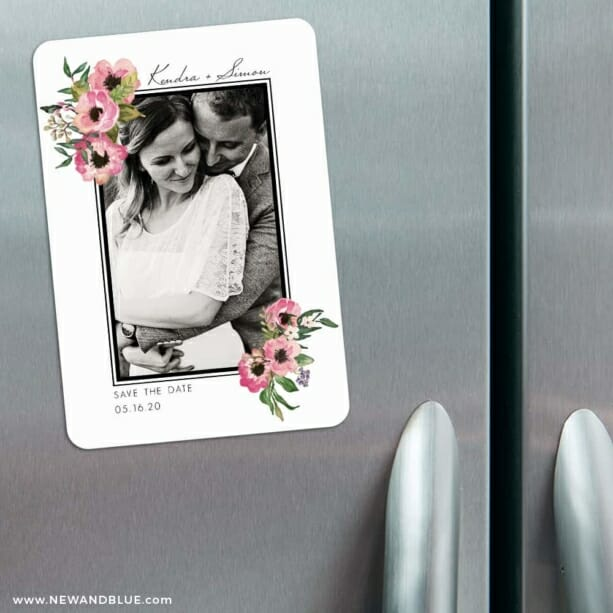 Bloom Nb 3 Refrigerator Save The Date Magnets