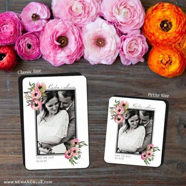 Bloom Nb 2 Save The Date Magnet Classic And Petite Size