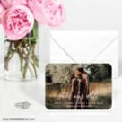 Scripted Romance 6 Wedding Save The Date Magnets