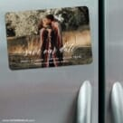 Scripted Romance 3 Refrigerator Save The Date Magnets