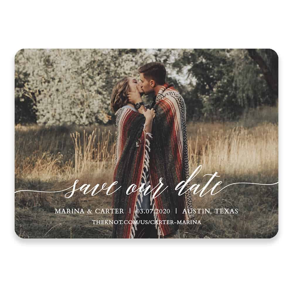 Scripted Romance Save The Date