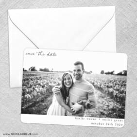 Exciting Times Save The Date Party Card