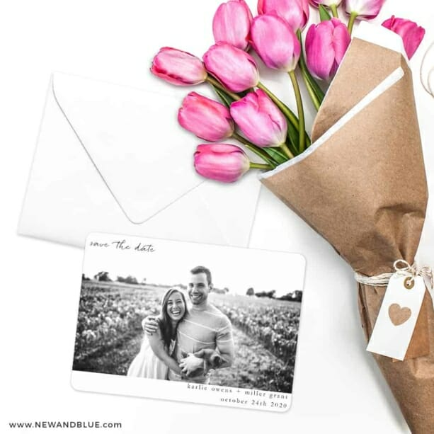 Exciting Times Save The Date Cards With Envelope