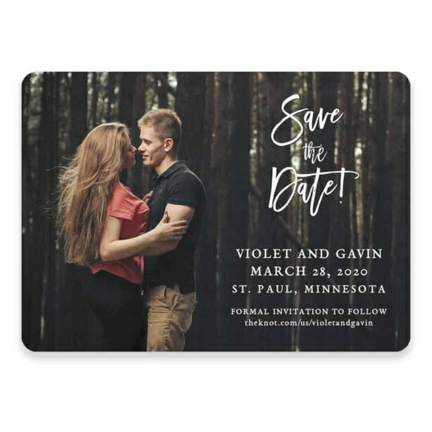 Enchanted Embrace Save The Date