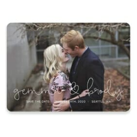 So In Love Save The Date