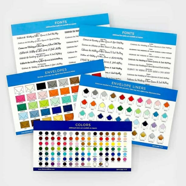 Sample Kit Save The Date Magnets And Wedding Invitations 3