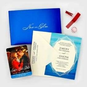 Sample Kit Save The Date Magnets And Wedding Invitations 1