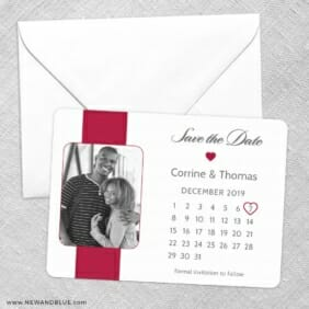 All You Need Is Love Nb1 Save The Date Party Card