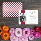 All You Need Is Love Nb1 Save The Date Card With Back Printing