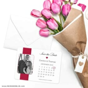 All You Need Is Love Nb1 Save The Date Cards With Envelope