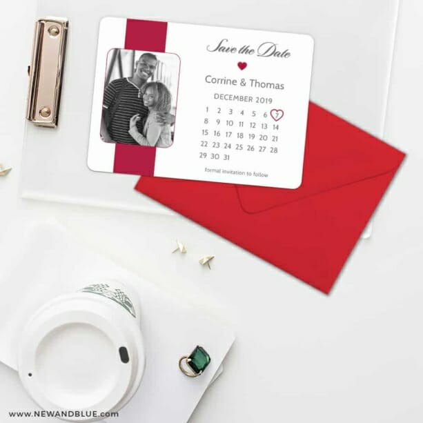 All You Need Is Love Nb1 Save The Date Cards And Optional Color Envelopes